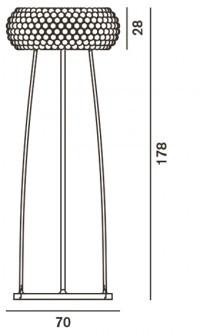 foscarini caboche schutzglas ersatzteile im designleuchten shop wunschlicht online kaufen. Black Bedroom Furniture Sets. Home Design Ideas