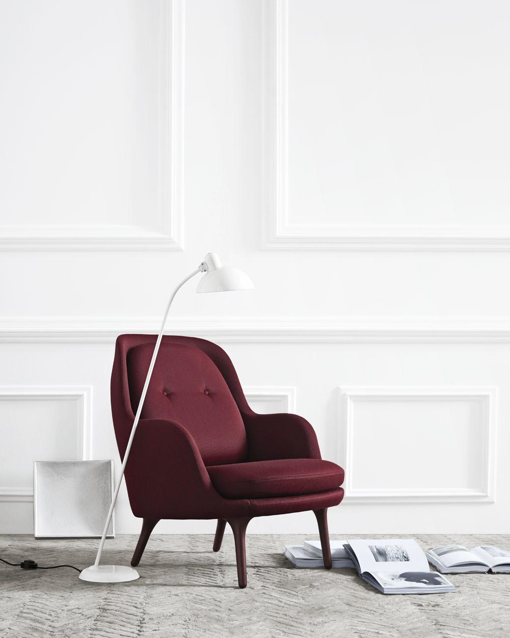 kaiser idell 6556 f super stehleuchte stehleuchten im designleuchten shop wunschlicht online kaufen. Black Bedroom Furniture Sets. Home Design Ideas