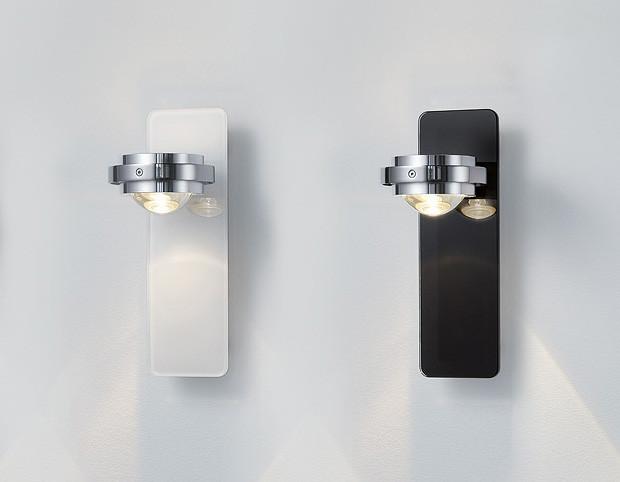 Wandlampe Anthrazit licht im raum ocular wandleuchte glas niedervolt wandleuchten im