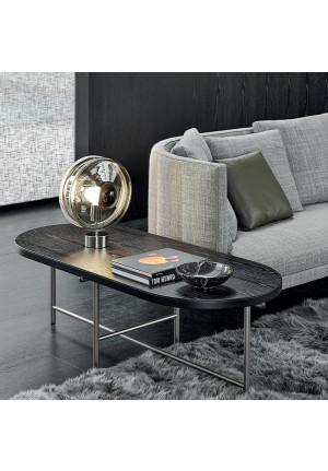 Bomma Orbital Table schwarz, Version Nickel