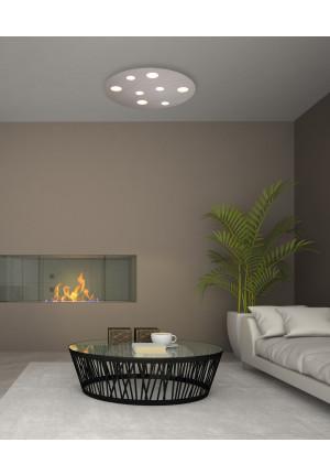 Bopp Grafico 8-flammig aluminium
