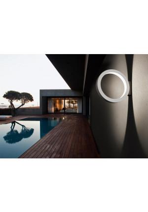Cini & Nils Assolo Outdoor Wand- und Deckenleuchte weiß