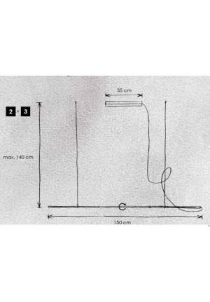 Escale Slimline Pendelleuchte 150 cm Ersatzteil