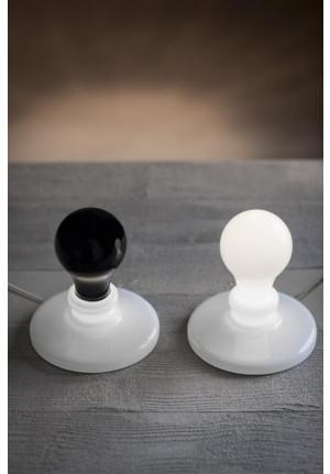 Foscarini Light Bulb schwarz und weiß