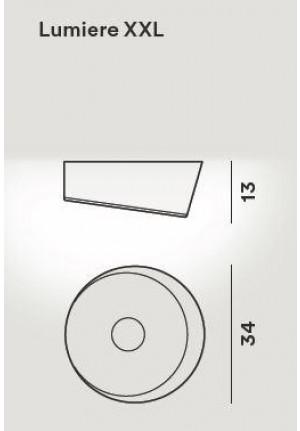 Foscarini Lumiere XXL Soffitto Parete LED Ersatzteil