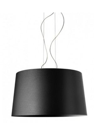 Foscarini Twice as Twiggy Sospensione schwarz