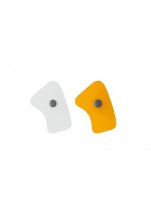 Foscarini Bit 5 weiß und orange