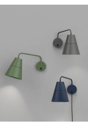 Grupa Ili Ili Wall Lamp grün, grau und blau