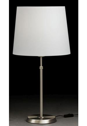 Holtkötter 6263 30cm Nickel, Schirm weiß