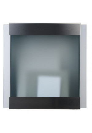 Keilbach - Briefkasten Glasnost Glas Klassik frontal