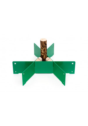 Keilbach - Weihnachtsbaumständer Halleluja grün