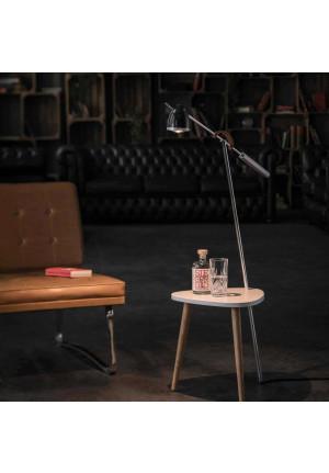 Less'n'more Ringelnatz Ylux Tisch RI-Y Leuchtenkopf schwarz glänzend