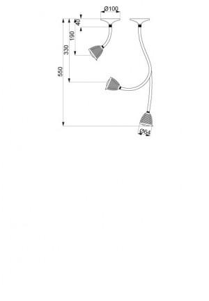 Less'n'more Athene Wand-/Deckenleuchte A-MDL1 und A-MDL2 Ersatzteil