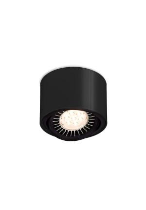 Mawa 111er rund LED, dimmbar schwarz