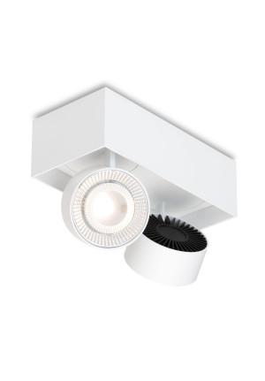 Mawa Wittenberg 4.0 Deckenleuchte halbbündig 2-flammig LED weiß