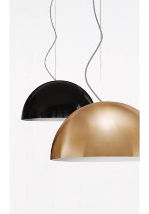 Oluce Sonora 437 schwarz und gold