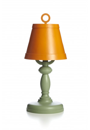 Moooi Paper Table Lamp Patchwork orange