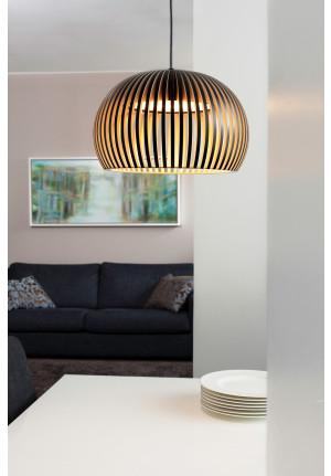 Secto Design Atto 5000 Birkenholz Natur schwarz laminiert