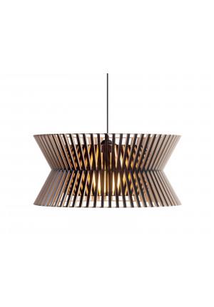 Secto Design Kontro 6000 Birkenholz Natur schwarz laminiert