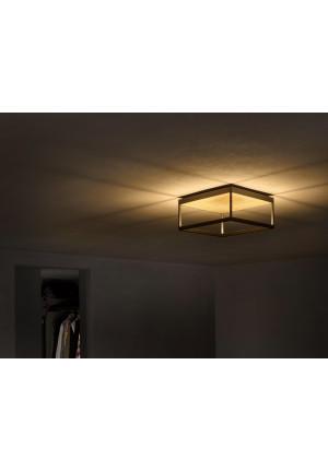 Serien Lighting Reflex2 Ceiling M150 ,Rahmenstruktur schwarz-Reflektor gold