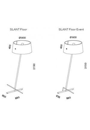Serien Lighting Slant Floor und Slant Floor Event Ersatzteil