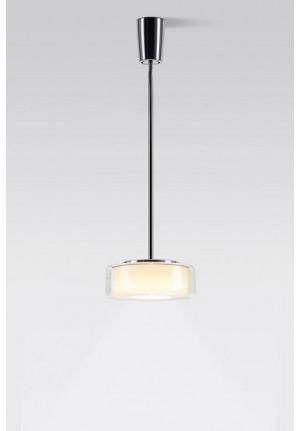 Serien Lighting Curling Suspension Tube LED klar/ zylindrisch opal