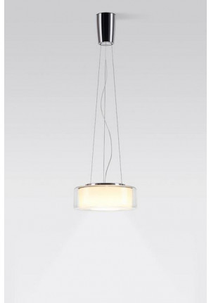 Serien Lighting Curling Suspension Rope klar/ zylindrisch opal