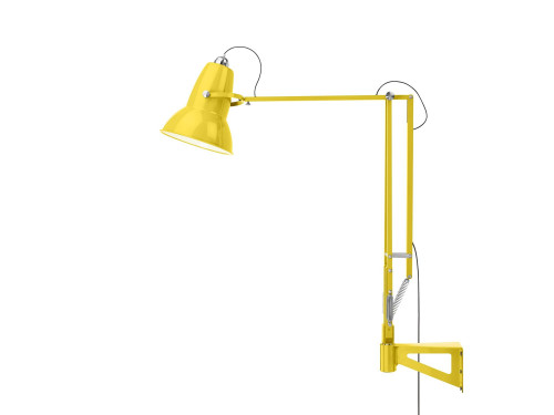 Anglepoise Original 1227 Giant Outdoor Lamp with Wall Bracket gelb