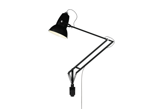 Anglepoise Original 1227 Giant Outdoor Lamp with Wall Bracket schwarz matt