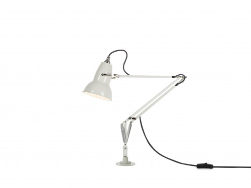 Anglepoise Original 1227 Lamp with Desk Insert weiß