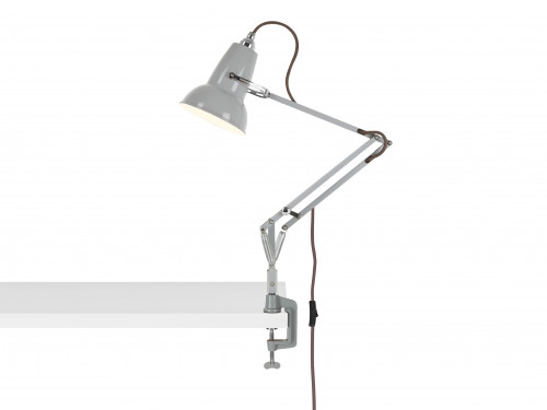 Anglepoise Original 1227 Mini Lamp with Desk Clamp grau