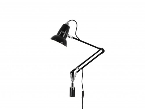 Anglepoise Original 1227 Mini Lamp with Wall Bracket schwarz