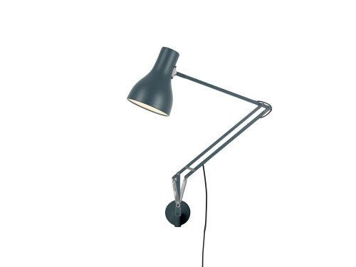 Anglepoise Type 75 Lamp with Wall Bracket grau