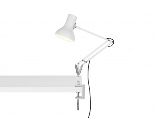 Anglepoise Type 75 Mini Lamp with Desk Clamp weiß
