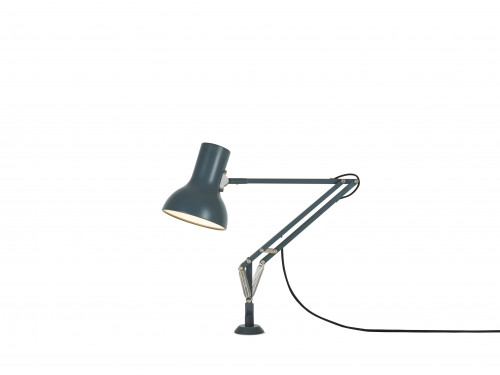 Anglepoise Type 75 Mini Lamp with Desk Insert grau