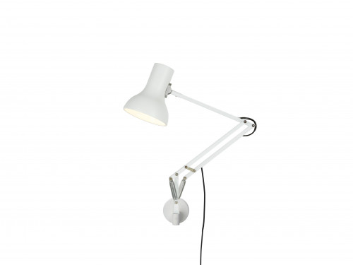 Anglepoise Type 75 Mini Lamp with Wall Bracket weiß