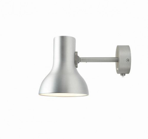 Anglepoise Type 75 Mini Metallic Wall Light silber