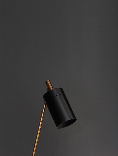 Anta Nobu Fuß und Schirm schwarz, Körper Messing