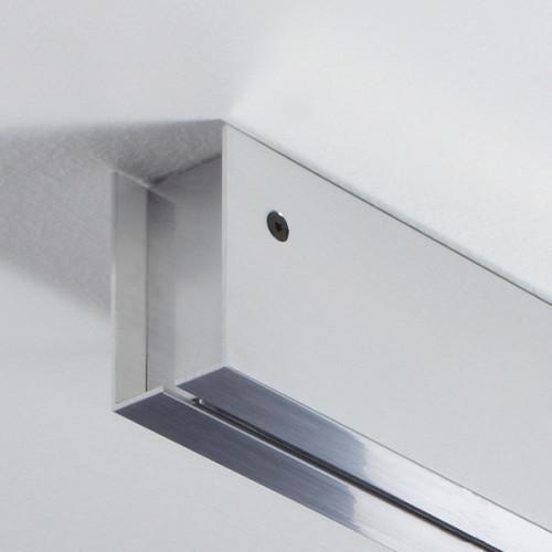Anta Drop Deckenschiene kurz Schiene Aluminium