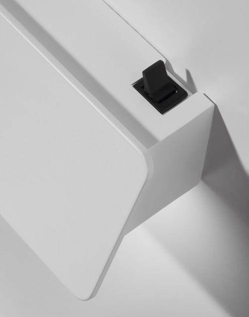 Bover Alba 90 weiß mit Ein-Aus Schalter (auf Anfrage)