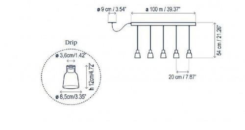 Bover Drip Linear PF/05L Grafik