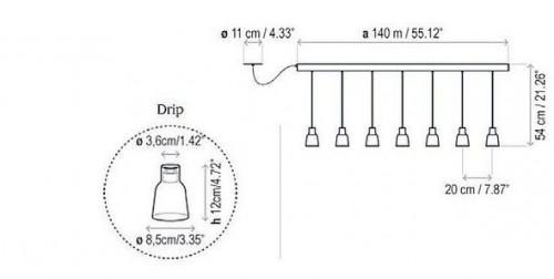 Bover Drip Linear PF/07L Grafik