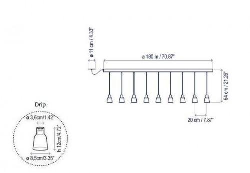 Bover Drip Linear PF/09L Grafik