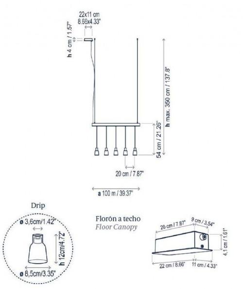 Bover Drip Linear S/05L Grafik