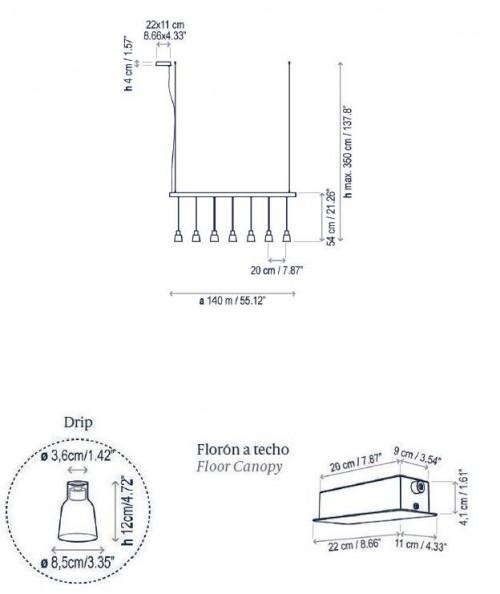 Bover Drip Linear S/07L Grafik