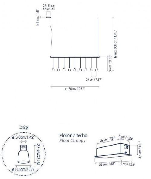 Bover Drip Linear S/09L Grafik