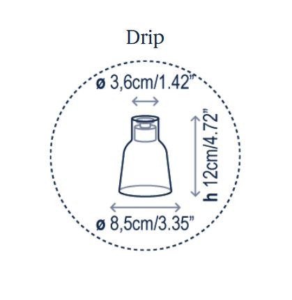 Bover Drip S/03L Grafik Leuchtenschirm