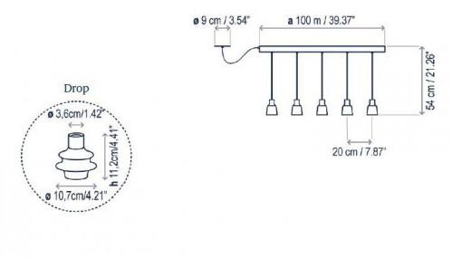 Bover Drop Linear PF/05L Grafik