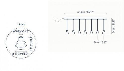 Bover Drop Linear PF/07L Grafik