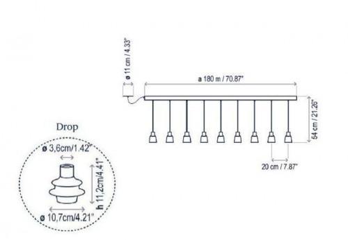 Bover Drop Linear PF/09L Grafik